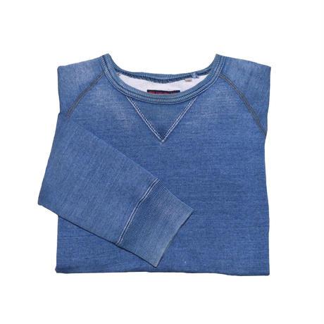 BLUE BLUE(ブルーブルー) ユーズド加工スウェット