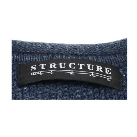 STRUCTURE(ストラクチャー) ヘンリーネックシャツ