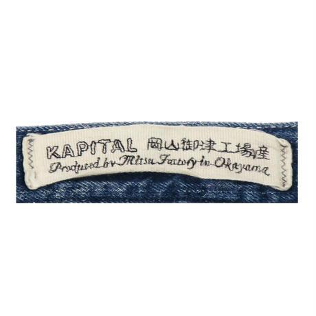 KAPITAL(キャピタル) ペインターパンツ