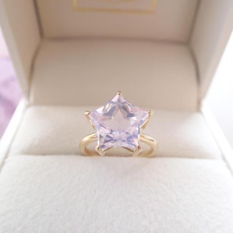 Etoile Ring L(ミルキーアメジスト)