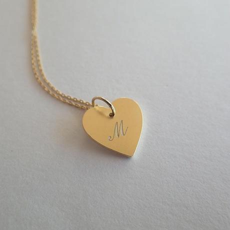 Love Letter Pendant の文字入れ加工料金《片面のみ》