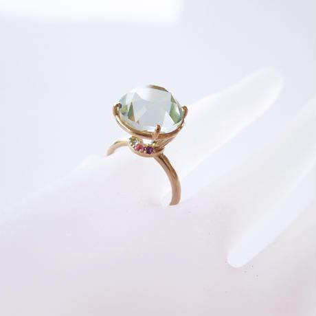 Jewel Ring L(グリーンクォーツ)