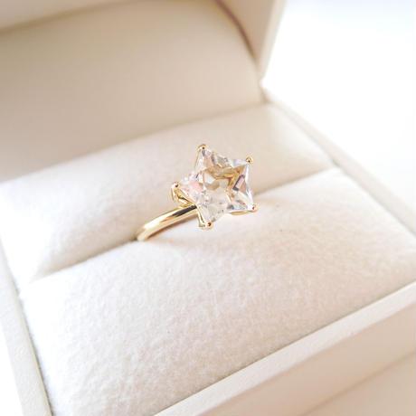 Etoile Ring M(クリアクォーツ)