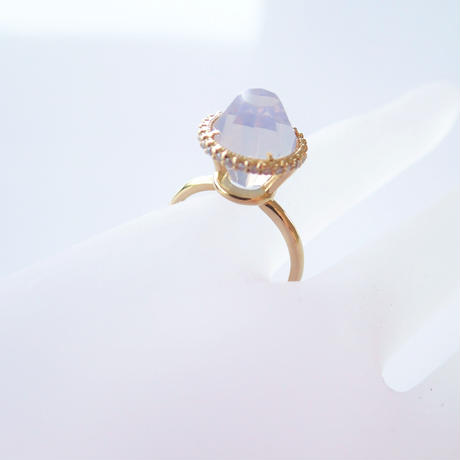 Princess Ring(ミルキーアメジスト)