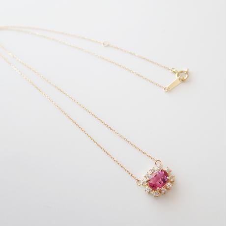 Sparkle pendant(ピンクトルマリン)