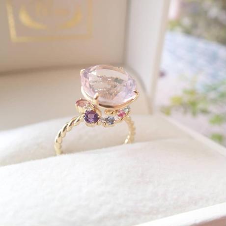 Nature Ring (ローズクォーツ)