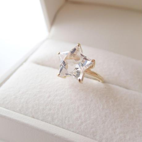 Etoile Ring L(クリアクォーツ)
