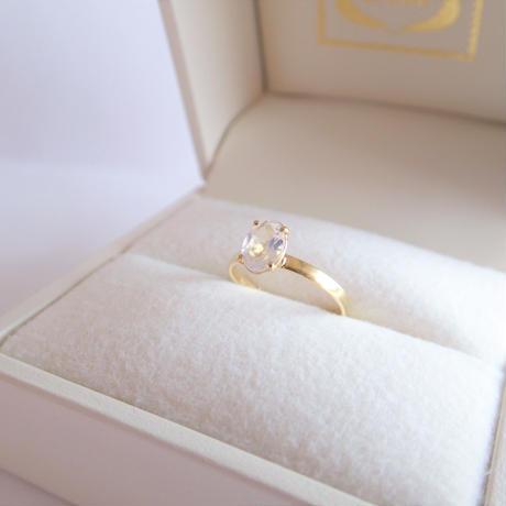 amulet ring(オーバル/ムーンストーン)