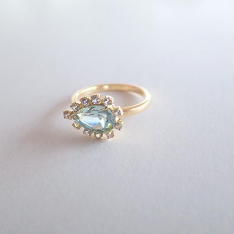 Sparkle ring(アクアマリン)