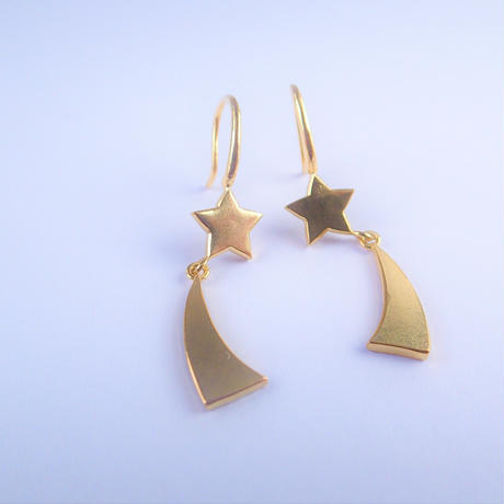Hope earrings (gold)