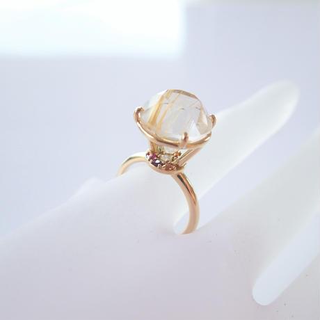 Jewel Ring L(ルチルクォーツ)