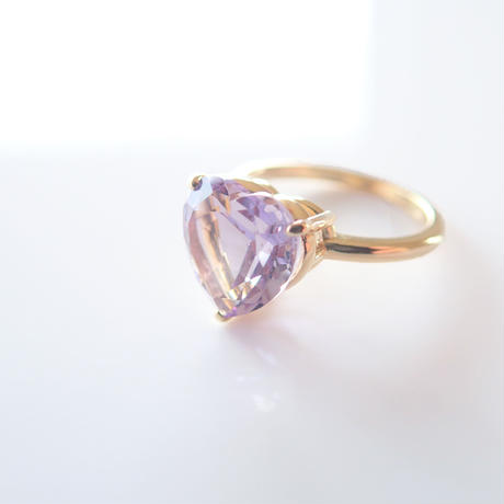 Candy Heart Ring(ローズアメジスト)