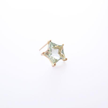 Etoile Earrings M (グリーンクォーツ)