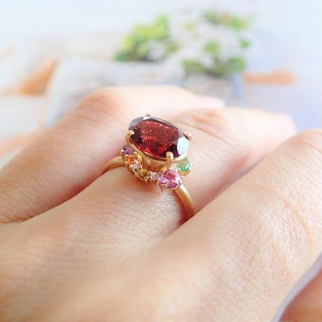 Nature Ring (ガーネット)