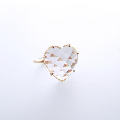 Heart Ring(ロッククリスタル)