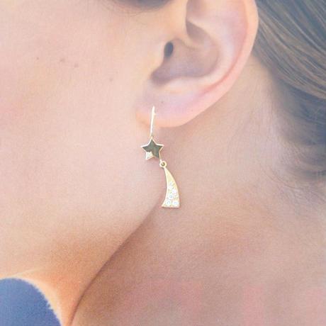 Hope earrings (diamond)