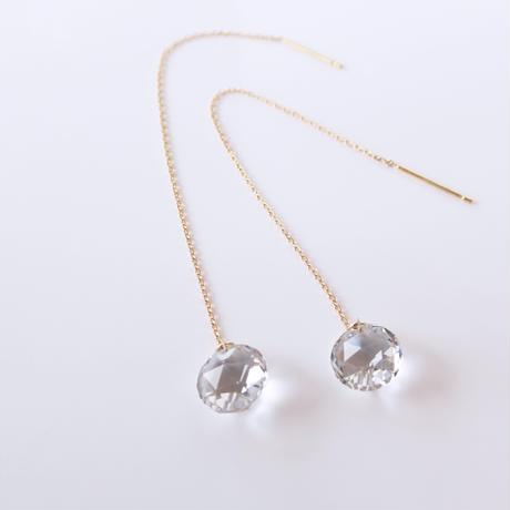 Ballerina Earrings (クリアクォーツ)