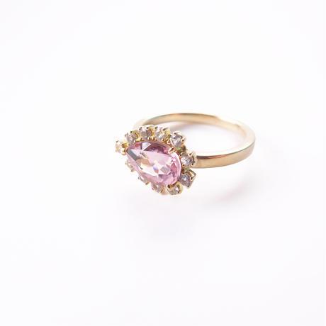 Sparkle ring(ピンクトルマリン)