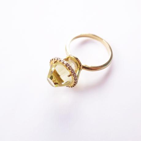 Princess Ring(レモンクォーツ)