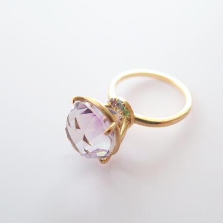 Jewel Ring  L (ローズアメジスト)