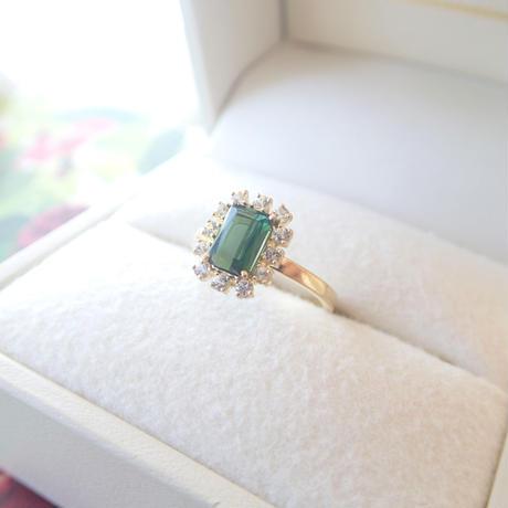 Sparkle ring(グリーントルマリン)