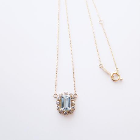 Sparkle  pendant(アクアマリン)