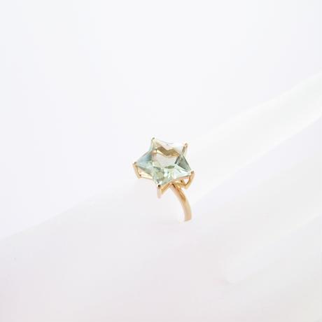 Etoile Ring L(グリーンクォーツ)