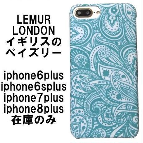 iphone8plus ケース lemur iphone7plus アイフォン8プラス ケース 6plus スマホケース ペイズリー