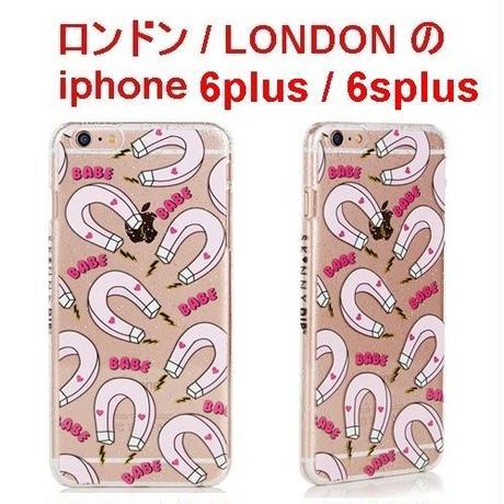 skinnydip スキニーディップ ロンドン の マグネット ハート IPHONE 6plus/6Splus BABE MAGNET CASE アイフォン ケース 保護フィルム セット 海外