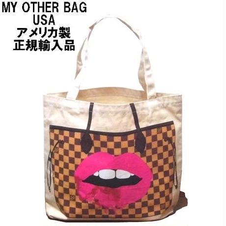 6e40c0bfbf97 My Other Bag マイアザーバッグ トートバッグ LONDON KISS 正規品 レディース キャンバス かわいい 布