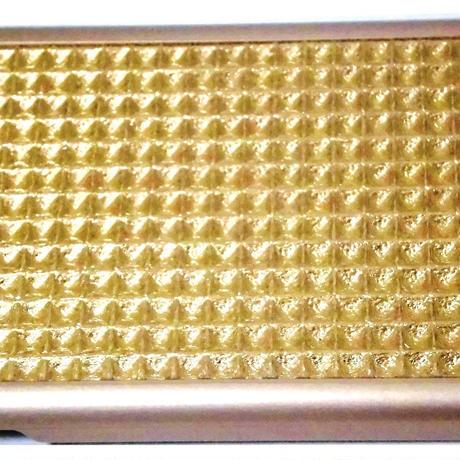 mabba マッバ ドイツ の ゴールド 凹凸 加工 iphone6 6S ケース Mrs Waffly iPhone 6 Case gold 本革 カバー アイフォン シックス レザー 新型