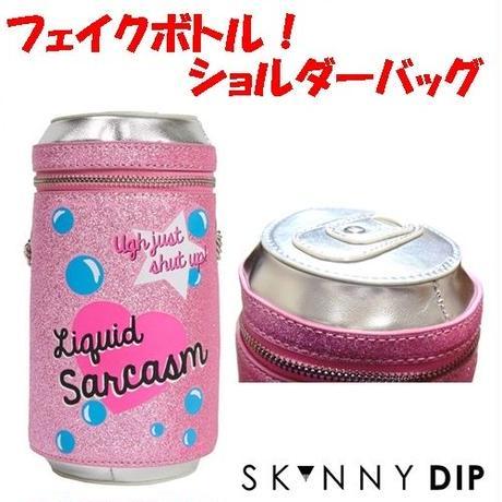 skinnydip スキニーディップ ロンドン ショルダーバッグ LIQUID SARCASM CROSS BODY BAG ボトル 肩掛け 斜め掛け チェーン クロスボディバッグ 海外 ブランド