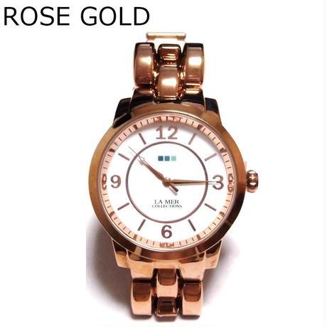 LAMERCOLLECTIONS ラメールコレクション アメリカ の 腕時計 レディース ローズ ゴールド アメカジ セレカジ おしゃれ udedokei うで時計 セール 海外 ブランド