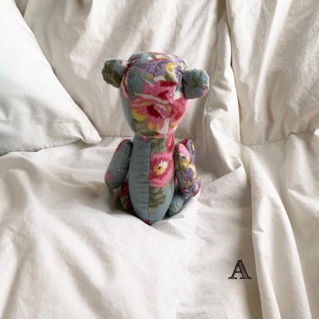 【再販】flower teddy