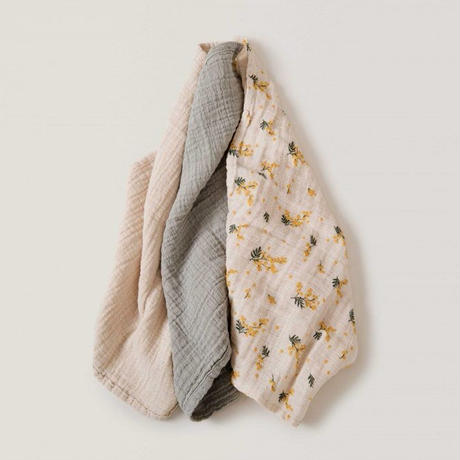 Garbo & Friends Mimosa Muslin Burp Cloths