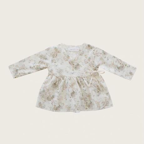 Jamie Kay Organic Cotton Wrap Blouse - Esme Floral