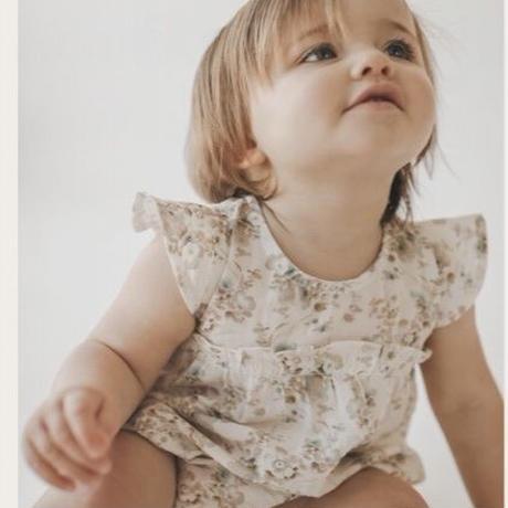 Jamie Kay  Organic Cotton Clara Playsuit - Esme Floral