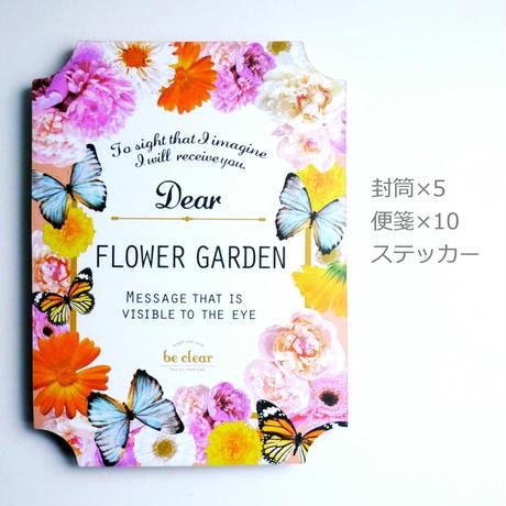 ミニレターセット 【FLOWER GARDEN】