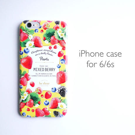 iPhone case for 6/6s 【MIXED BERRY】