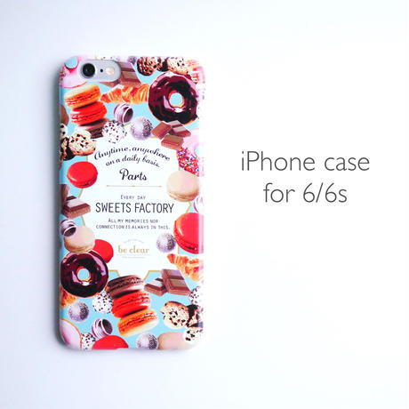 iPhone case for 6/6s 【SWEETS FACTORY】