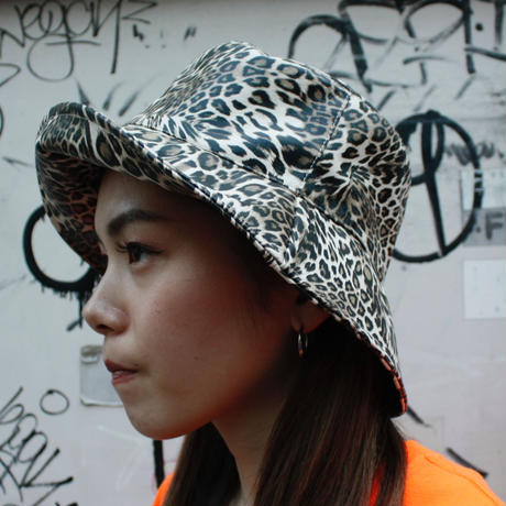 【Selected Item】Leopard bucket hat / ヒョウ柄バケットハット / mg310