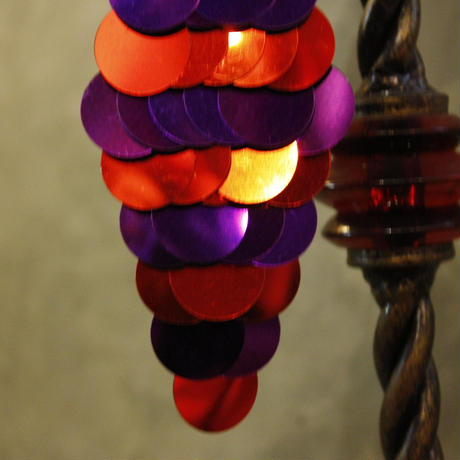 【bed-things by hand - 】Marmaid Disco Pierce/RED×PURLE