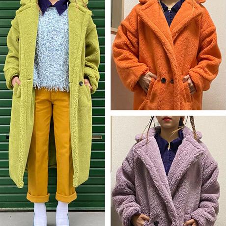 【migration】Boa color coat / ボアカラーコートmg703