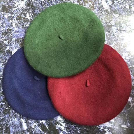 【Selected Item】Wool beret / ウールベレー帽 / mg138