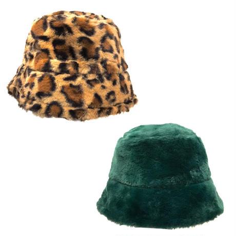 【Selected item】Fur bucket hat / ファーバケットハット / mg474