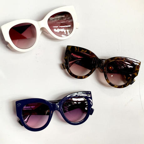 【Selected Item】Design frame color sunglasses / デザインフレームサングラス / mg-363
