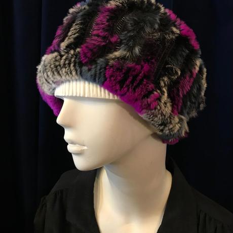 【Selected item】Rabbit fur head & neck warmer / ラビットファーヘッド&ネックウォーマー / mg403
