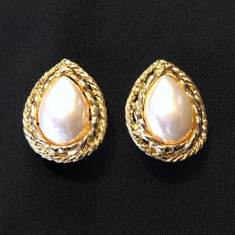 【Used】Pearl earrings / パールイヤリング