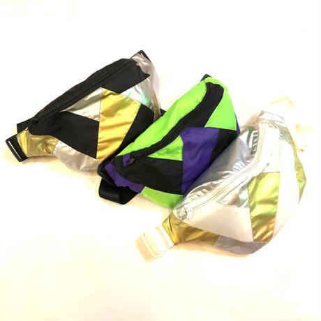 【Selected item】Multicolor waist pouch/ マルチカラーウエストポーチ
