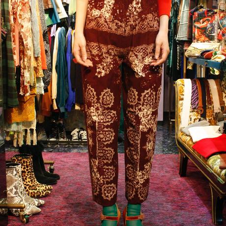 【Used】High-waist corduroy pants / ハイウエストコーデュロイパンツ